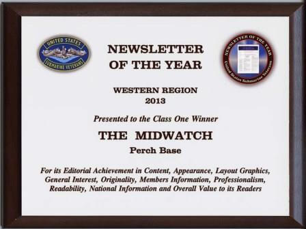 "Awarded 2011 ""Newsletter of the Year"""