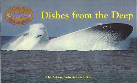 """Dishes From the Deep,"" cookbook cover"