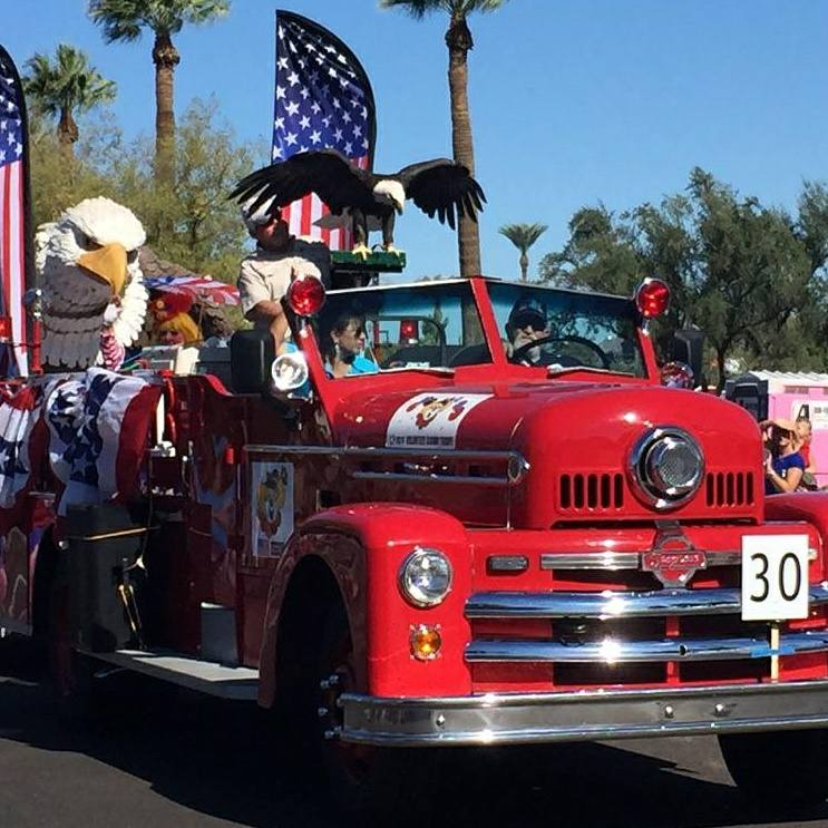2016 Phoenix Veterans Day parade photos