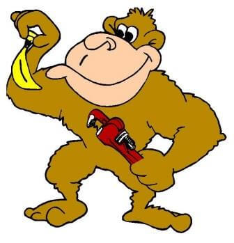 A-Ganger: Monkey holding a wrench.