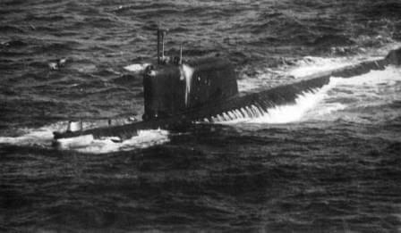 K-19, a Hotel-class Soviet submarine