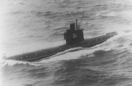 A Romeo class submarine.