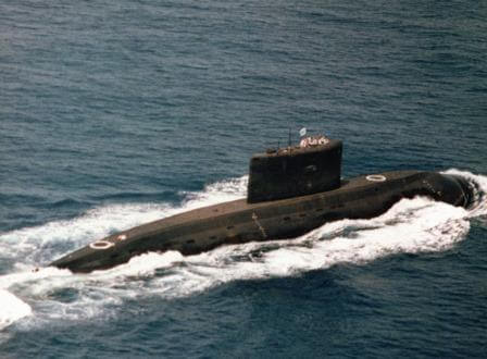 A Kilo-Class submarine